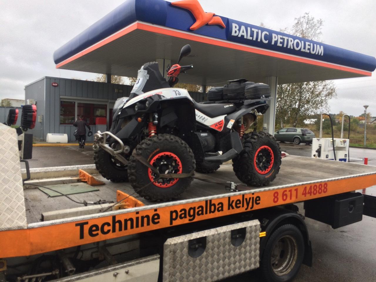 Techninė pagalba kelyje - tralas visą-parą Vilniuje ir visoje Lietuvoje
